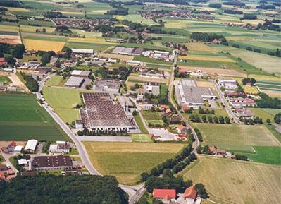 Luftbild Gewerbe Wallenbrück