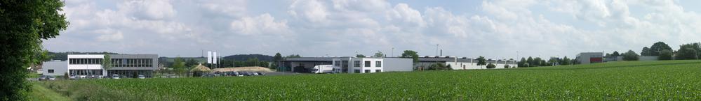 Panorama Gewerbegebiet Wallenbrück