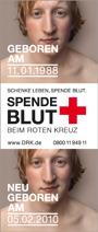 Blutspende Anzeige