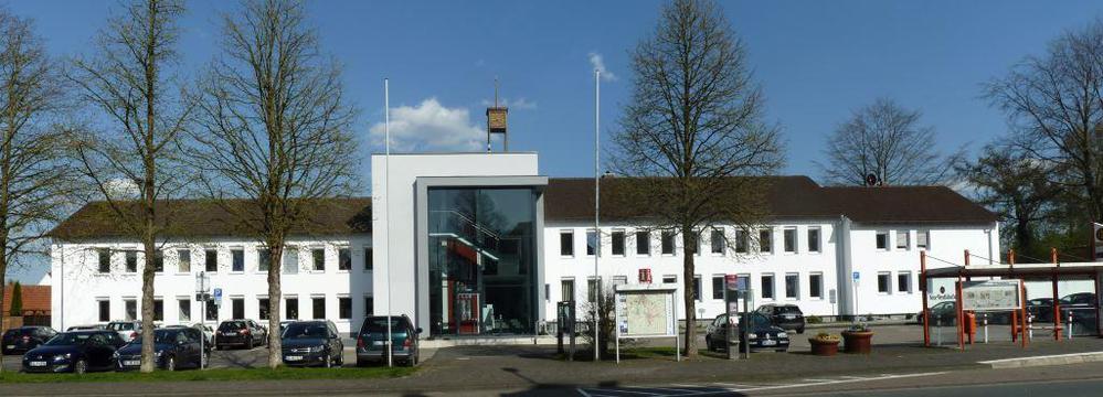 Rathaus Spenge Panorama