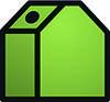 Altglascontainer grün