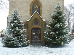 Weihnachtsmarkt Martinskirche