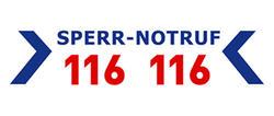 Externer Link: Logo Sperr-Notruf